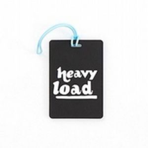 Path Travel Black Luggage Tags. Heavy Load. New.